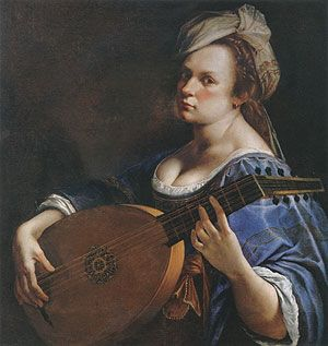 Artemisia Gentileschi - Remarkable artist and woman.