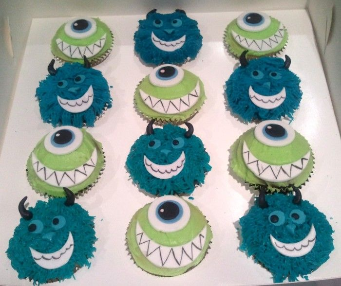 Best 25 Sully Cupcakes Ideas Only On Pinterest Monsters