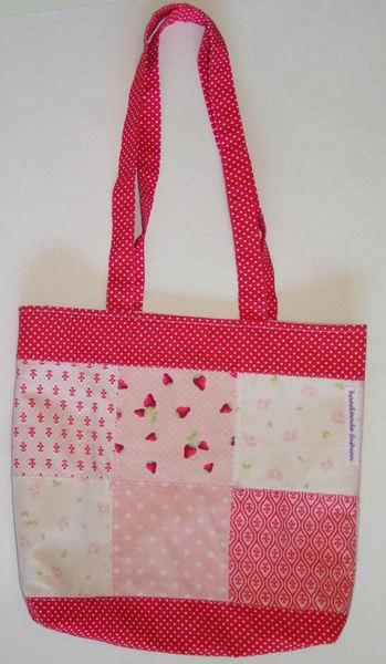 Romantische Patchwork Tasche