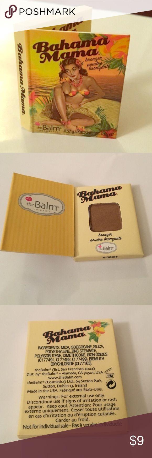 NEW The Balm Bahama Mama bronzer, 0.02oz NEW The Balm Bahama Mama bronzer, 0.02oz the Balm cosmetics Makeup Bronzer