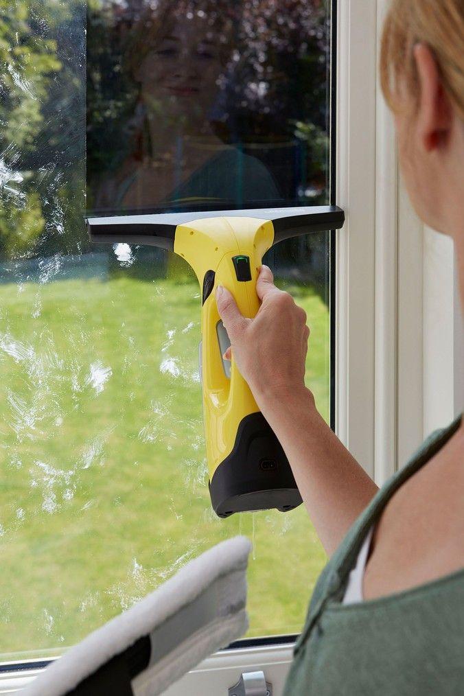 Window vac 2 premium double spout kitchen faucet
