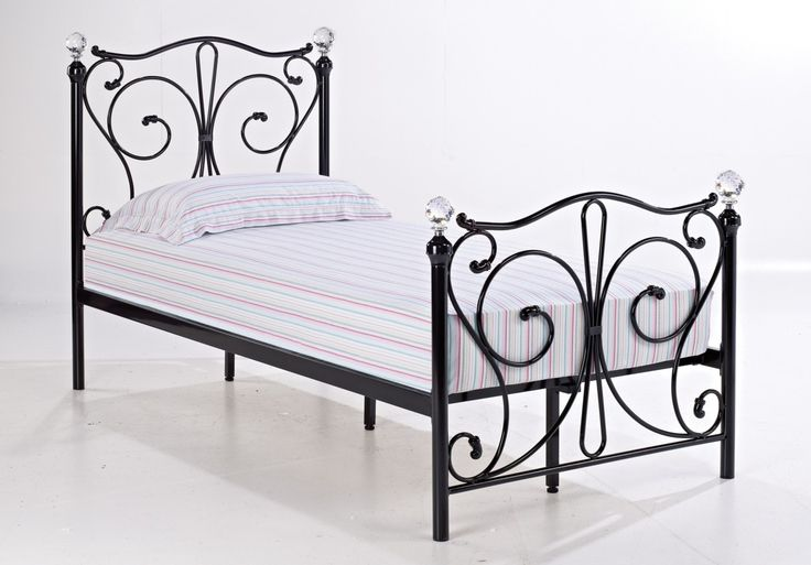 Bonsoni is proud to present this Foyles Single Metal Bed Frame 3ft Black by Lloyd Phillip & Delric which has Assembled Dimension: 1990 x 985 x 1150.  http://www.bonsoni.com/foyles-single-metal-bed-frame-3ft-black-by-lloyd-phillip-delric