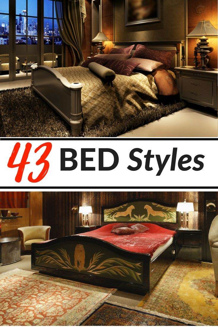 44 Types Of Beds By Styles Sizes Frames And Designs With Images