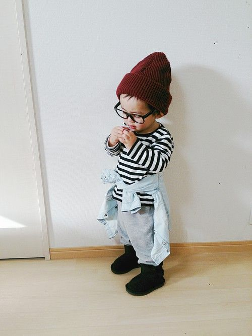 Super cool baby fashion.