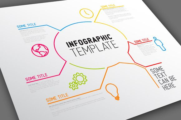 Vector Infographic Template - Bubble by Orson on @creativemarket