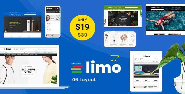 Limo - Multipurpose OpenCart 3 Theme #Multipurpose, #Limo