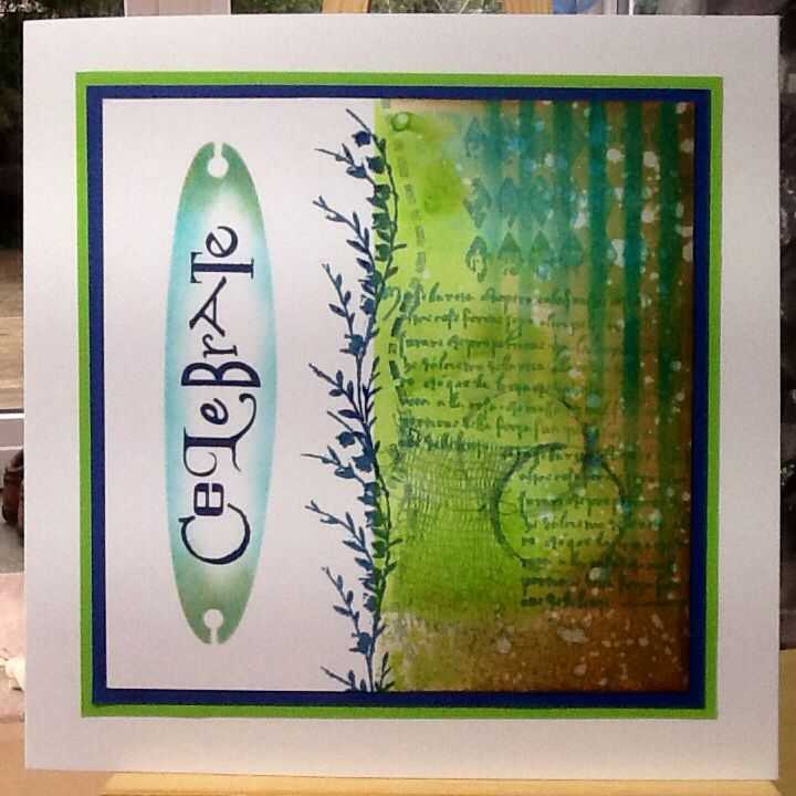 March C&C with Claritystamps