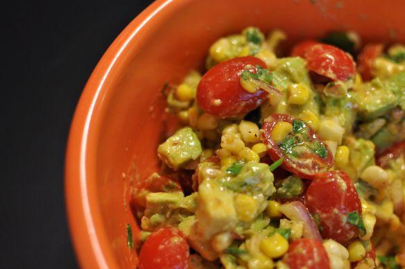 Honey lime vinaigrette, Avocado salads and Vinaigrette on Pinterest