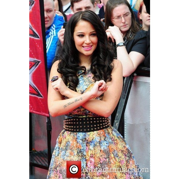 Tulisa Contostavlos 'X Factor' Auditions In Liverpool ❤ liked on Polyvore