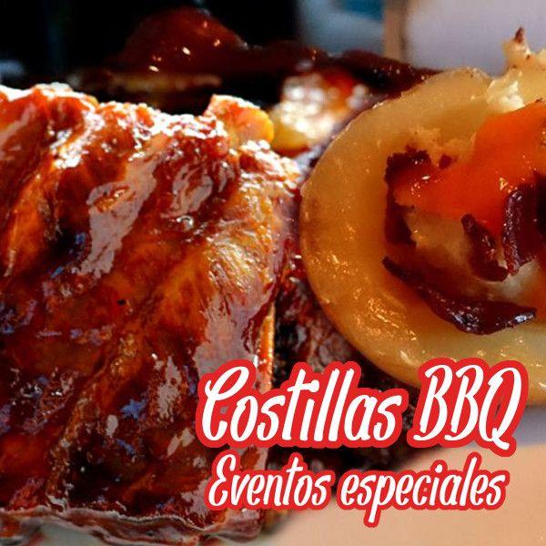 Nuestras famosas costillitas BBQ con patatas