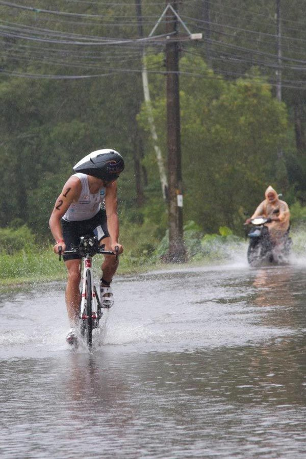 Storm flood - Ironman 70.3 Phuket