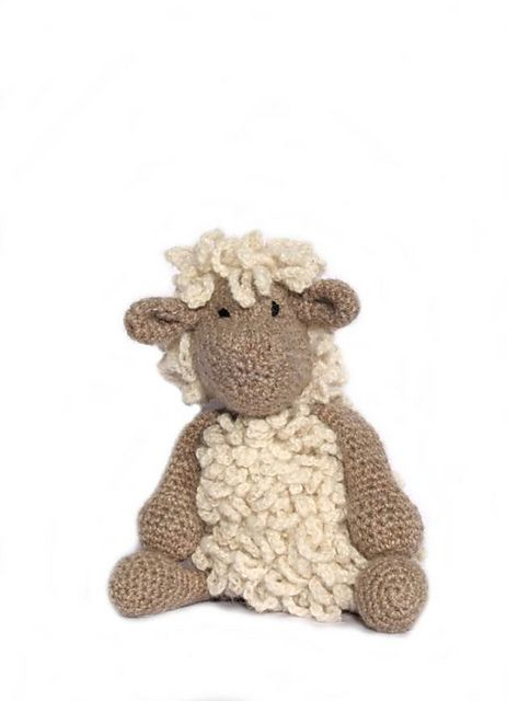 Knitting Patterns For Wensleydale Wool : Ravelry: Seth the Wensleydale Sheep pattern by The Toft Alpaca Shop Crochet...