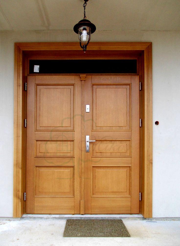 Drzwi zewnętrzne dwuskrzydłowe