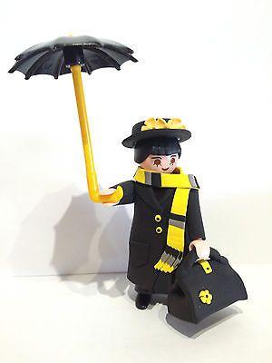 FIGURA CUSTOM Mary Poppins - Personajes Peliculas - PLAYMOBIL