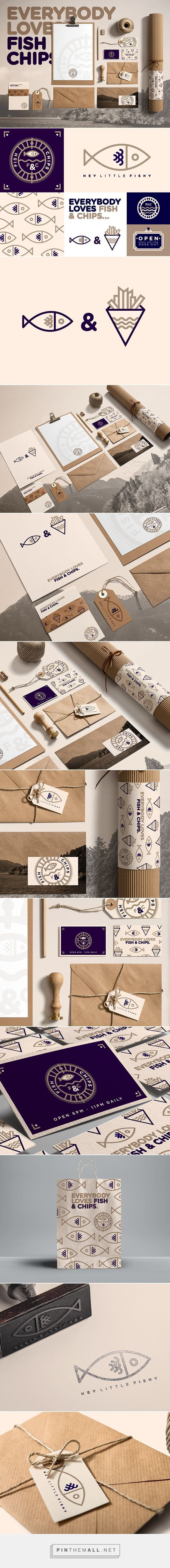 Everybody Loves Fish & Chips identity packaging branding on Behance by STUDIOJQ ™ curated by Packaging Diva. Who want's some fish and chips now?
