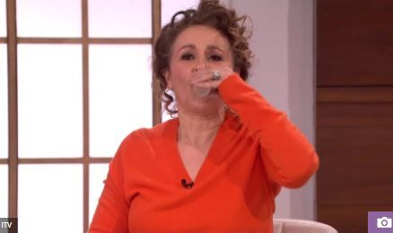 Viewers Shocked As Popular Actress Drinks Her Own Urine Live On TV (Photos) A popular actress has dared to drink her own urine on a live television show as viewers get really horrified.  Nadia Sawalha drank her own urine live on today's Loose Women  Popular English actress Nadia Sawalha recently drank her own urine live on today's episode of Loose Women a popular English TV show it has been revealed.  The atress who is also a TV presenter drank her wee on the show to demonstrate urine…