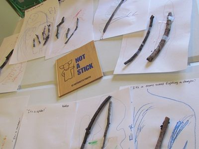 Make anything but a stick - could also do this craft with Stick Man by Julia Donaldson