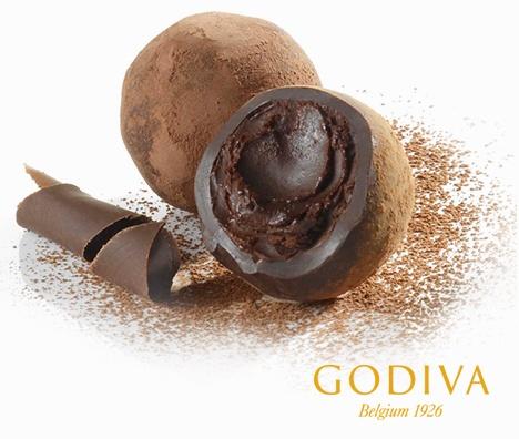 Godiva Dark Chocolate Truffle Calories
