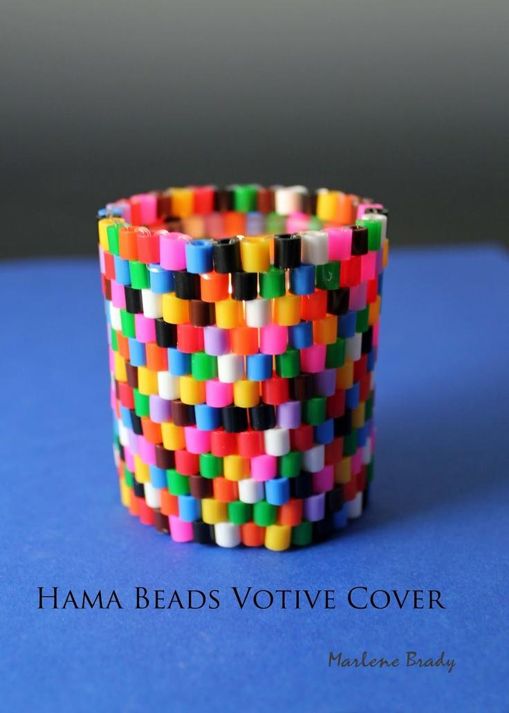 Hama Beads - perles à repasser : http://www.creactivites.com/229-perles-a-repasser
