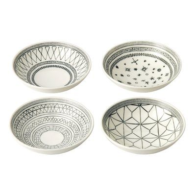ED Crafted by Royal Doulton 4 Piece Pasta Bowl Set