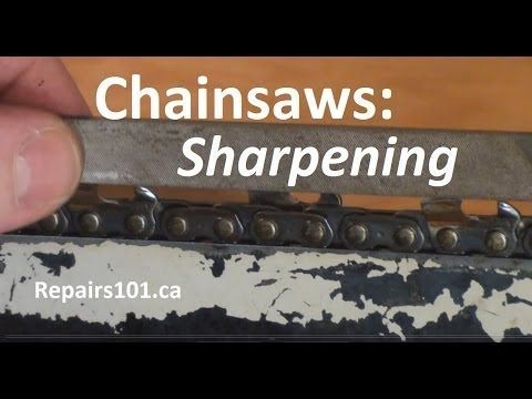 How to Sharpen a Chainsaw: 13 Steps (with Pictures)