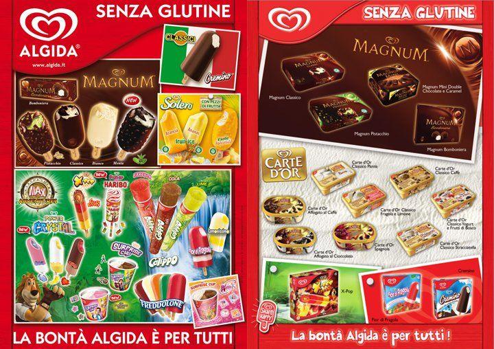 Algida ice cream