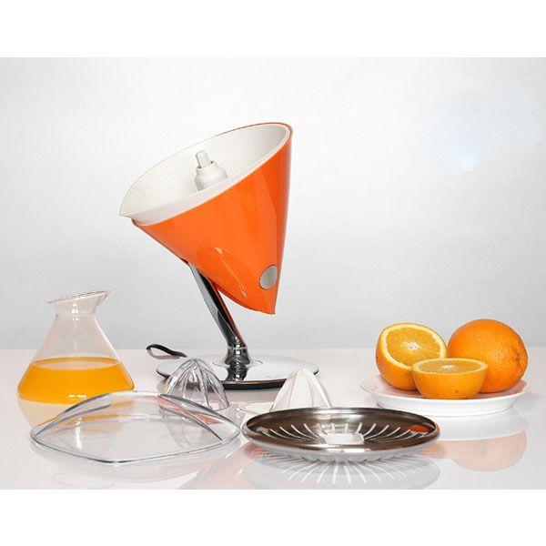 Bugatti Vita Citrus Juicer - orange electric juicer