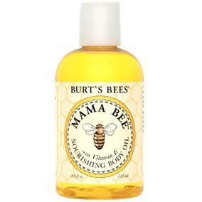 Burts Bees Aceite Nutritivo Para El Cuerpo Mama Bee 4 Fl Oz  (115 Ml) Mantén tu piel flexible y suave con este aceite para cuerpo completamente natural y liviano. Los aceites de almendra dulce y limón más la Vitamina E reacondicionan tu piel. Es también tan buena como el aceite para masajear al bebé