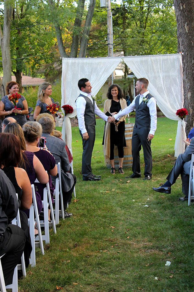 Flow Ceremonies - Gay Wedding Ceremony
