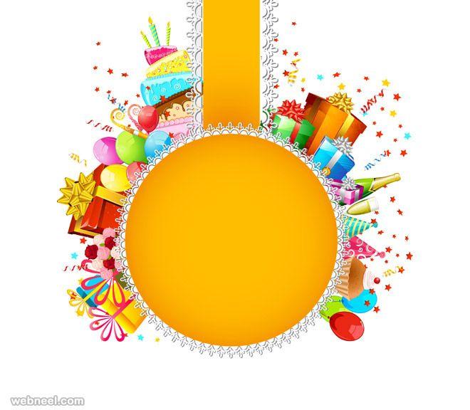 50 Beautiful Happy Birthday Greetings Card Design Examples Brush