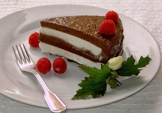Doce Gelatinado de Chocolate e Natas