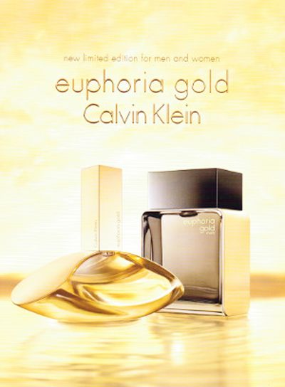 BEM-VINDO AO E.S.P FASHION BLOG BRASIL: Calvin Klein Euphoria Gold Limited Edition