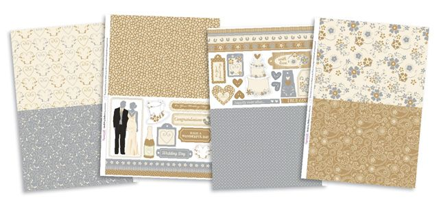 FREE Wedding Belles papers to download from issue 99! | Papercraft Inspirations