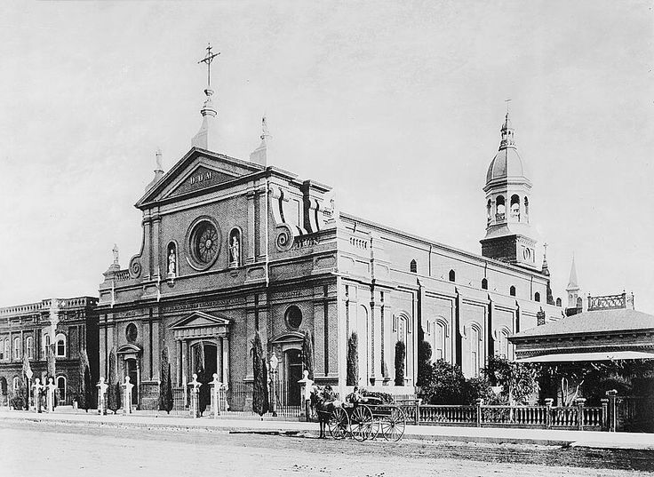 California History - Los Angeles - Cathedral of Saint Vibiana - circa 1885