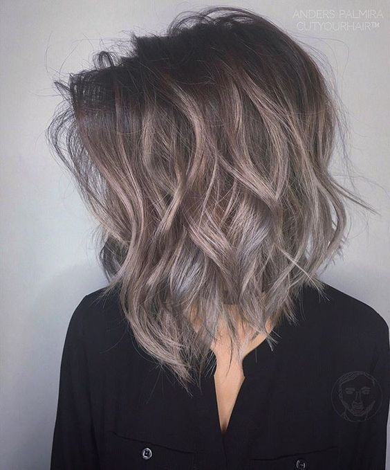 50 Short Black And Grey Ombre Hairstyles 51 Hair Pinterest