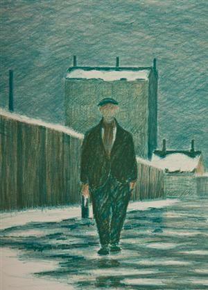 Køb og sælg moderne, klassiske og antikke møbler - Folmer Bendtsen 1907-1993 cd, litografi - DK, Næstved, Gl. Holstedvej