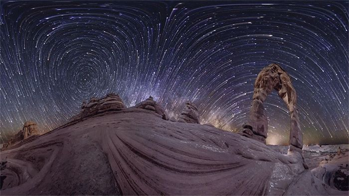 A Multi Camera 360° Panoramic Timelapse of the Stars by Vincent Brady