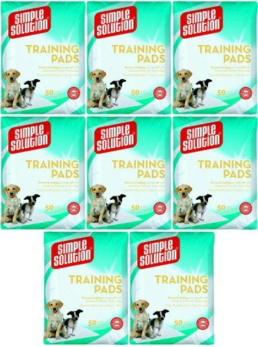 Simple Solution Original Training Pads 400 pk (8x50pk) ** Learn more by visiting the image link.