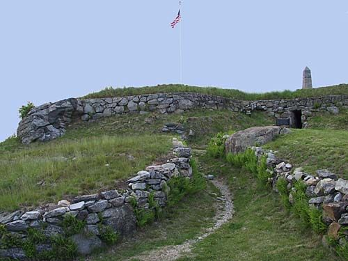 Fort Griswold Battlefield State Park. Groton, CT.  Infamous Revolutionary War turncoat Benedict Arnold led a siege of Fort Griswold as part of the Battle Of Groton Heights, in which he set much of the towns of Groton and New London ablaze. The fort suffered massive casualties during the raid and was abandoned.