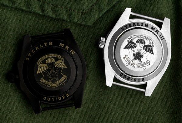 "Project X Designs ""Stealth"" Customized Rolex Submariner Watch 