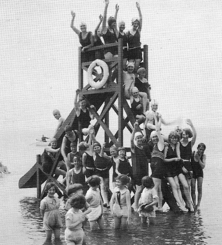 Cleveleys Beach Slide, 1930's