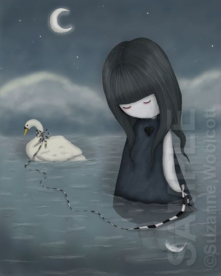Take Me Away With You by gorjuss on deviantART