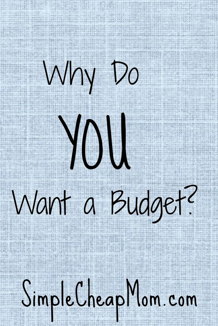 Make this budget the one that sticks!