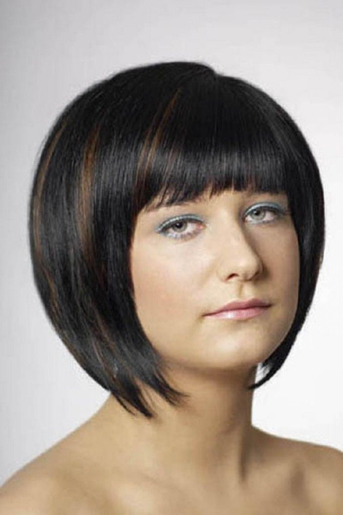 bob hairstyle black hair with brown highlights bob hairstyle