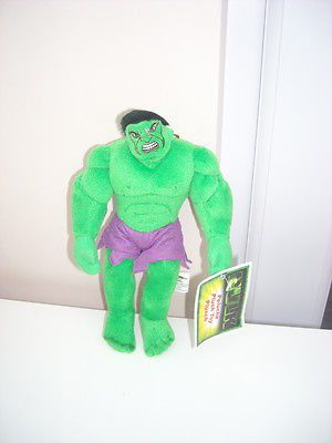 """The hulk #movie 2003  9"""" soft toy  #brand new #tagged,  View more on the LINK: http://www.zeppy.io/product/gb/2/311788365367/"""
