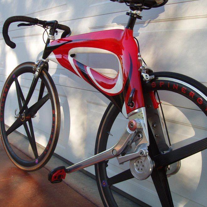 レバーを踏んで走る自転車 Nubike チェーンよりもシンプルで 高効率 えん乗り 自転車 レバー バイク