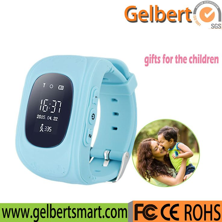 china supplier kids gps smart cell phone watch with gps watch tracker