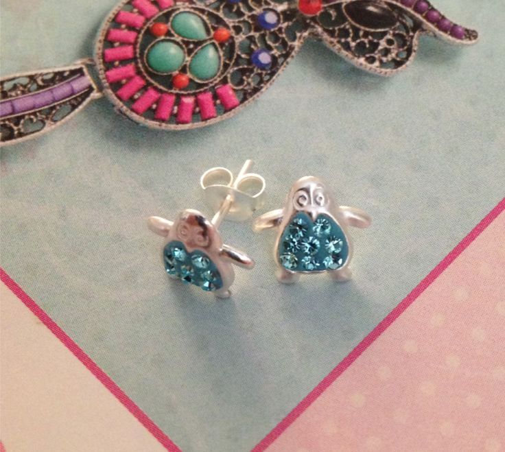 Penguin Earrings, £7.99
