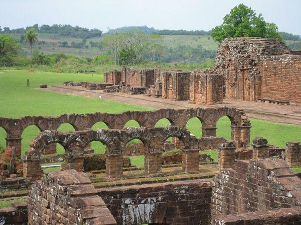 Paraguay ruinas