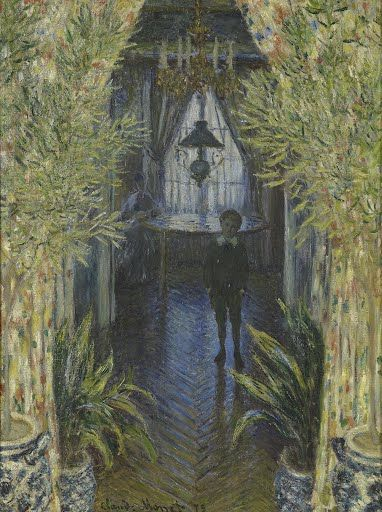 From 1871, when he returned from England, until 1878, Monet lived in the  commune of Argenteuil near Paris. During this period he often featured his  wife Ca...
